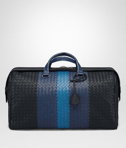 MITTLERE DUFFEL BAG AUS INTRECCIATO CLUB IN MULTICOLOR