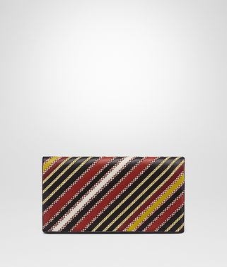 CLUTCH BAG IN BAROLO MULTI NERO NAPPA