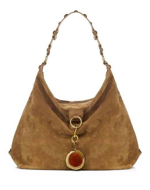 lanvin large hobo bag women