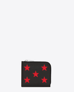 ライダー カリフォルニア ジップ コインポーチウォレット(ブラック/レザー、レッド/メタリックグレインレザー)
