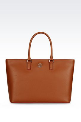 Armani Shopper Femme cabas avec logo