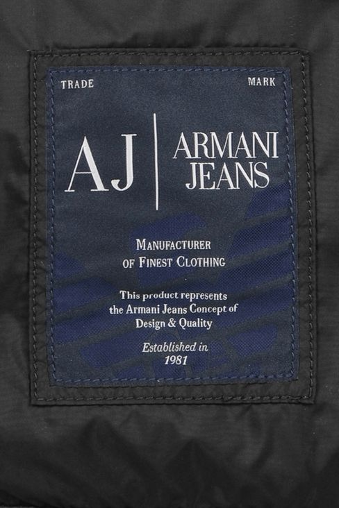 PACKABLE BACKPACK IN TECHNICAL FABRIC: Rucksacks Men by Armani - 5