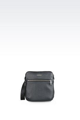 Armani Messenger bags Men cross body bag with logo