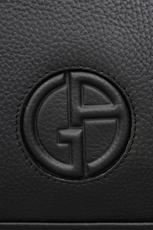 タンブルドカーフスキン製ブリーフケース: ブリーフケース メンズ by Armani - 4