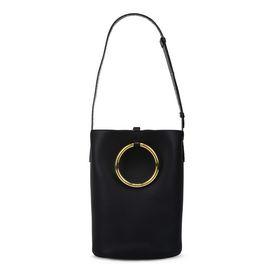 Black Alter Nappa Big Bucket Bag