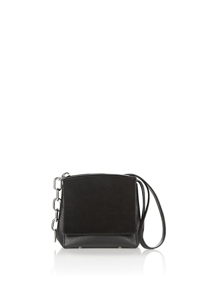ALEXANDER WANG Shoulder bags Women ATTICA FLAP MARION IN PEBBLED BLACK