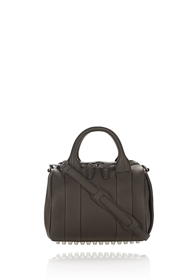 ALEXANDER WANG new-arrivals-bags-woman ROCKIE IN MATTE GRASS WITH RHODIUM