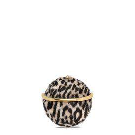 Alter Fur Leopard Shoulder Bag