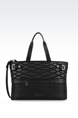Armani Shopper Donna borsa shopping trapuntata
