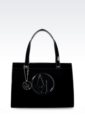 Armani Shoppers Women tote bag with charm