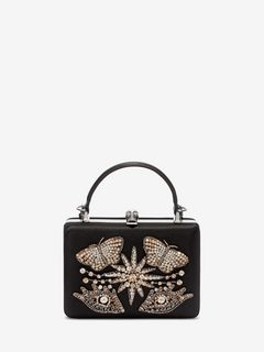 Embroidered Case Clutch