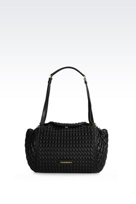 Armani Hobo bags Women matelassé cross body bag