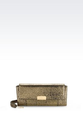 Armani Pochettes Women cross body bag in printed calfskin