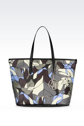 Armani Shopper Donna borsa shopping con ciondolo
