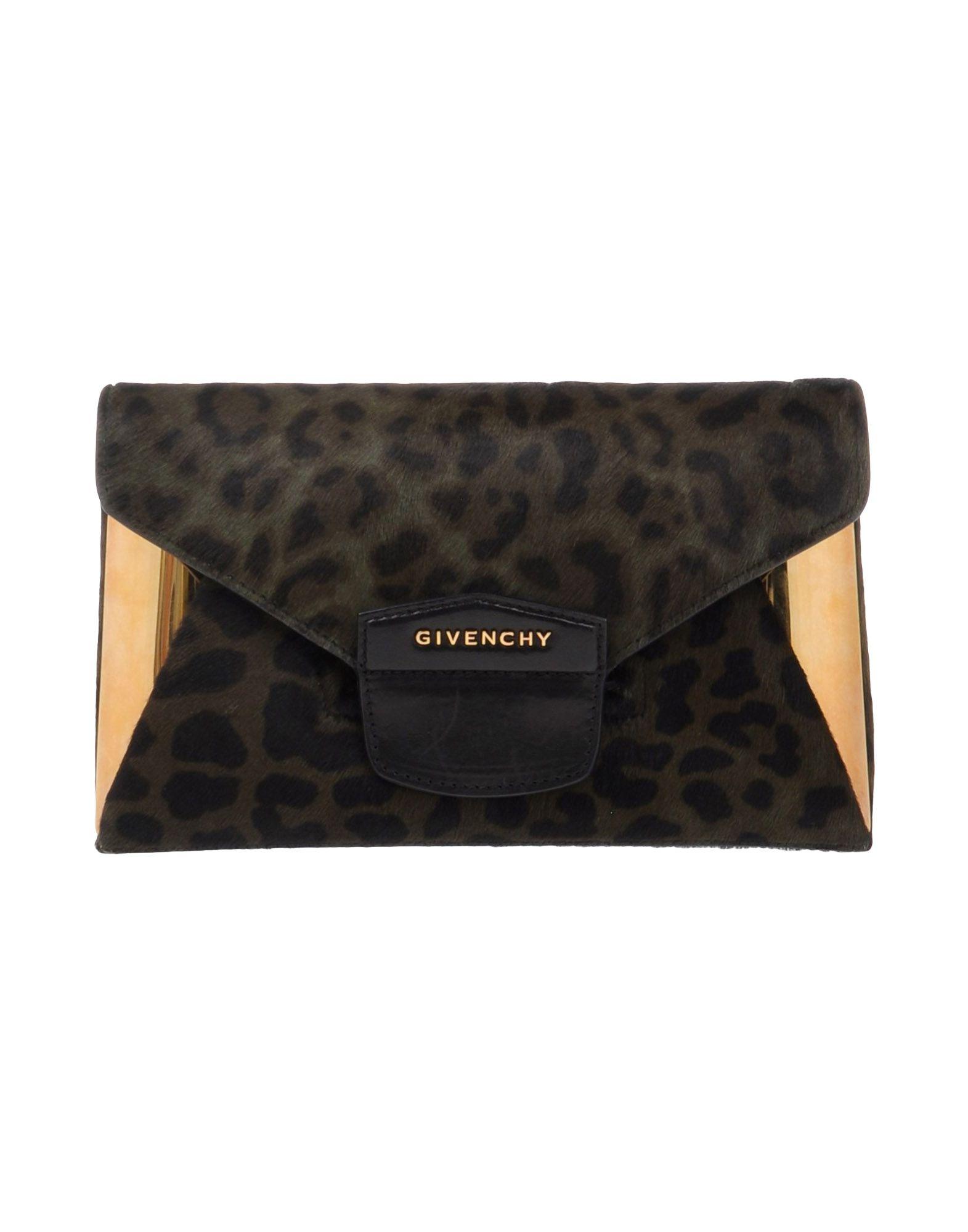 GIVENCHY Damen Handtaschen Farbe Dunkelgrün Größe 1