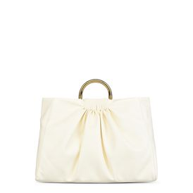 White Nina Large Shoulder Bag