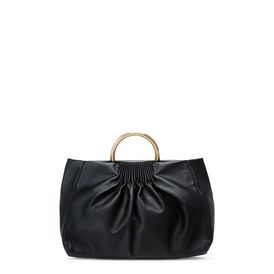Black Nina Medium Shoulder Bag
