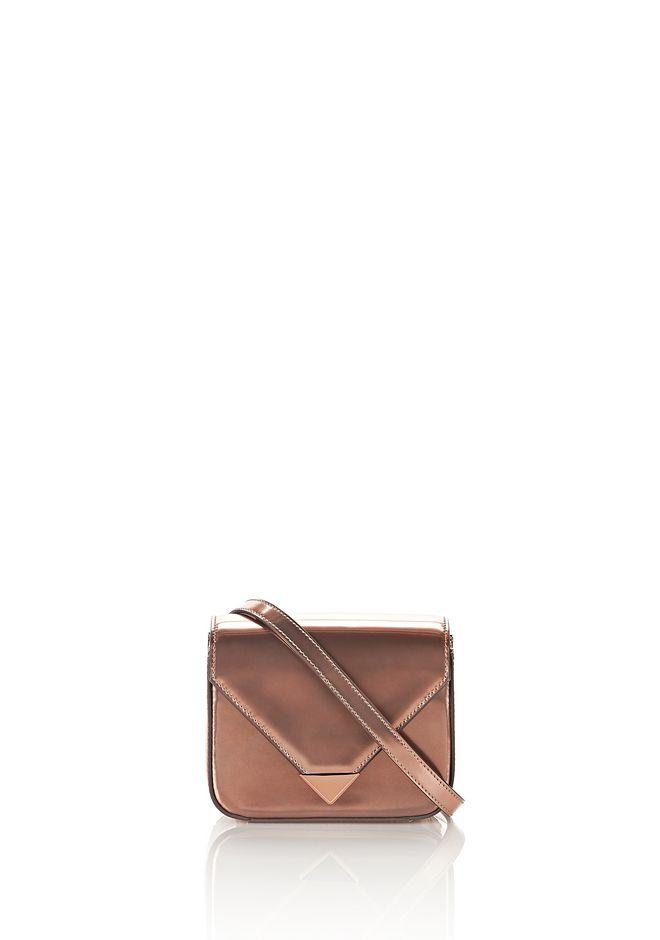 ALEXANDER WANG new-arrivals-bags-woman MINI PRISMA ENVELOPE SLING IN ROSE GOLD