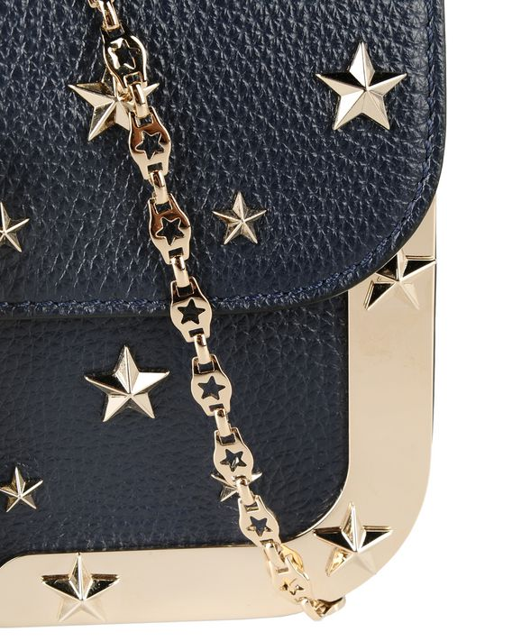 REDValentino Cross body bag with all-over stars