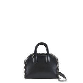 Black Falabella Box Mini Bag