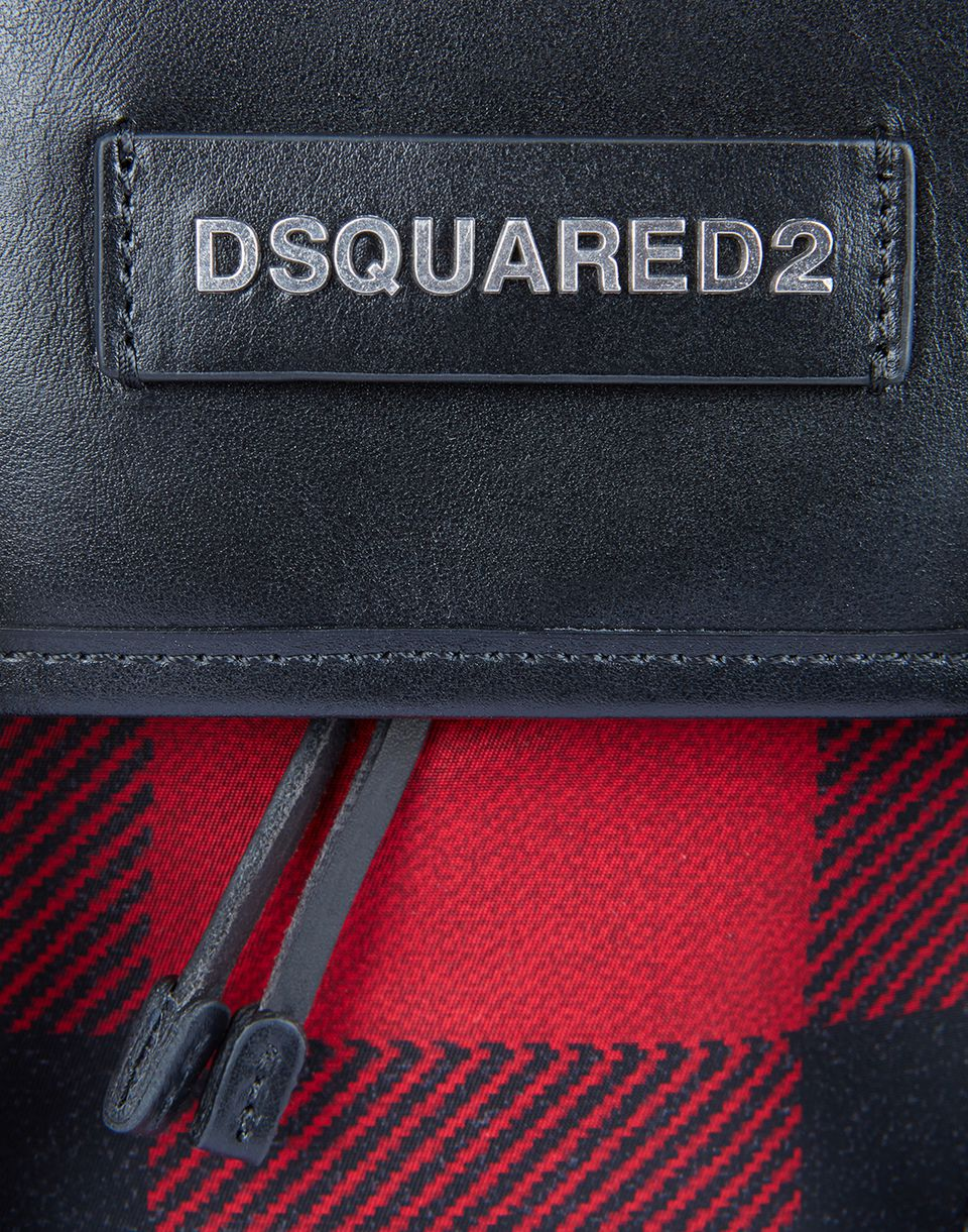 buffalo check donald backpack bags Man Dsquared2