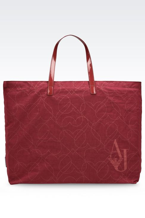 FOLDAWAY TOTE BAG: Shoppers Women by Armani - 1