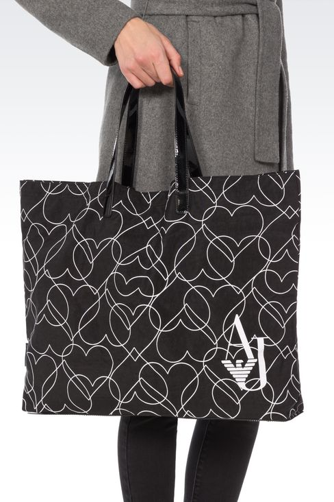 FOLDAWAY TOTE BAG: Shoppers Women by Armani - 2