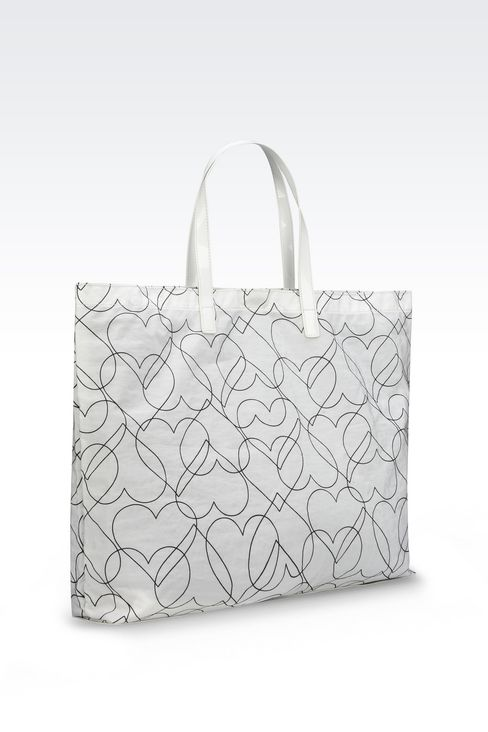 FOLDAWAY TOTE BAG: Shoppers Women by Armani - 3