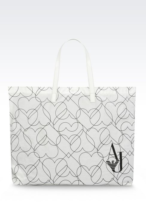 FOLDAWAY TOTE BAG: Shoppers Women by Armani - 1