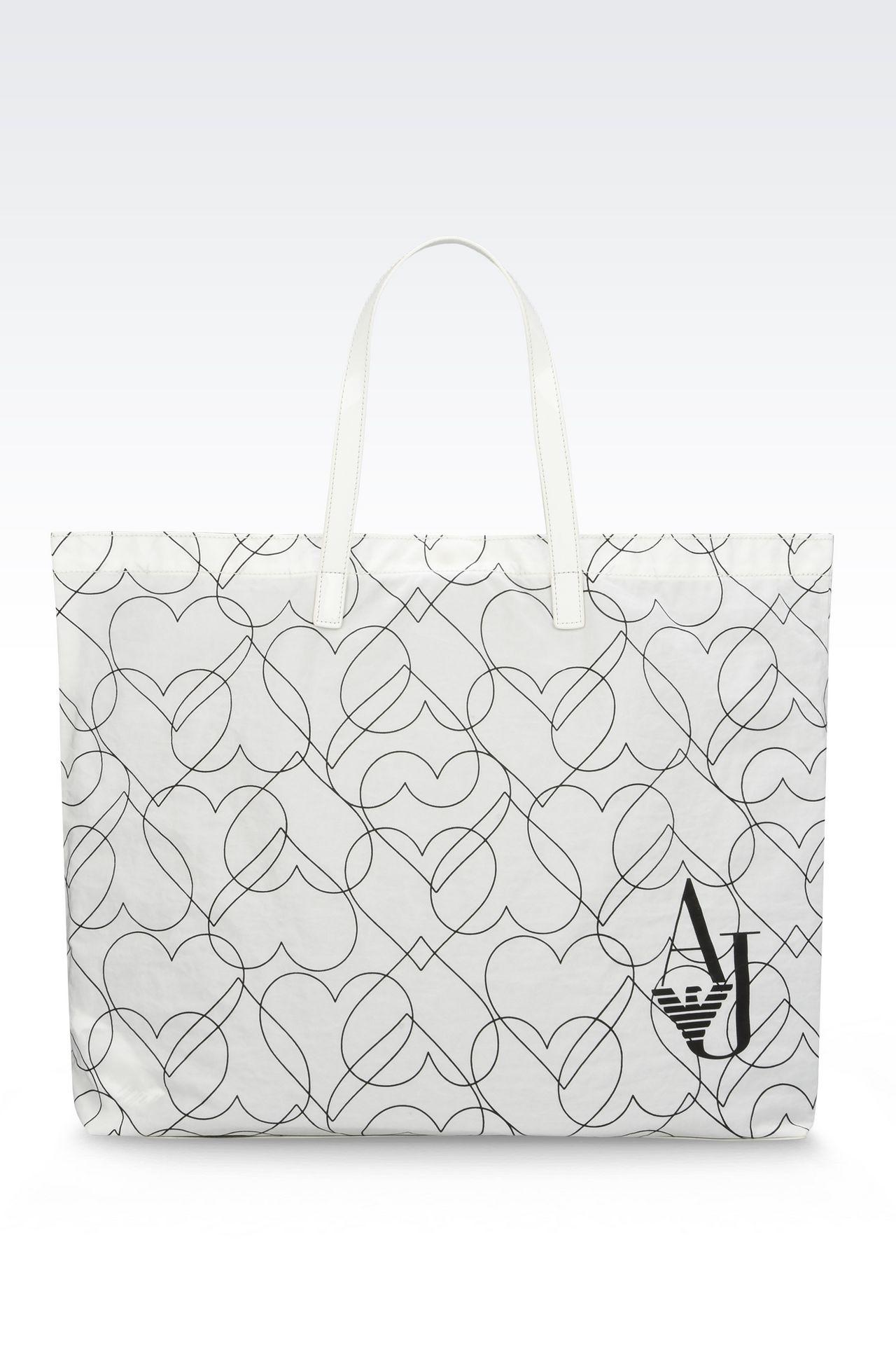 FOLDAWAY TOTE BAG: Shoppers Women by Armani - 0