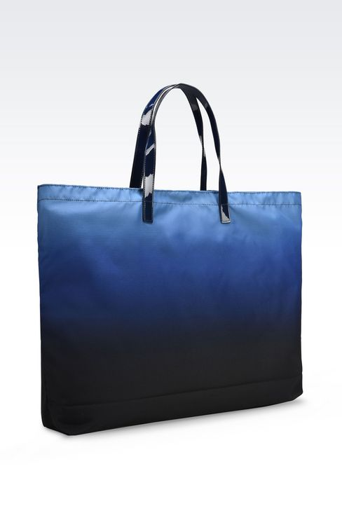FOLDAWAY TOTE BAG: Shoppers Women by Armani - 4