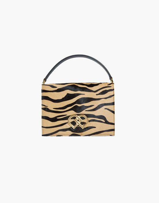 "dd tiger print ""pony"" bag handbags Woman Dsquared2"