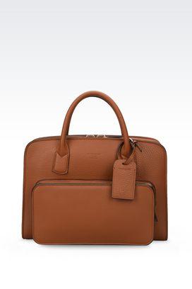 Armani Borse da lavoro Uomo borsa briefcase giorgio armani private bag