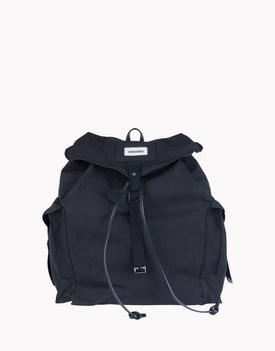 drawstring canvas backpack bags Man Dsquared2