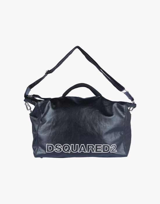 leather duffle bag bags Man Dsquared2