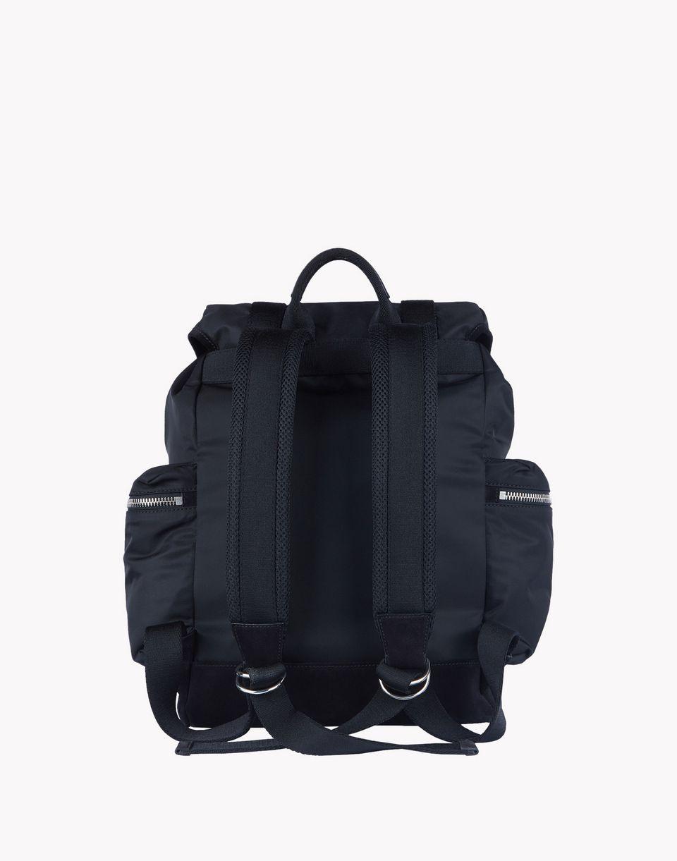 Dsquared2 Leather Trimmed Backpack - Backpacks for Men | Official ...