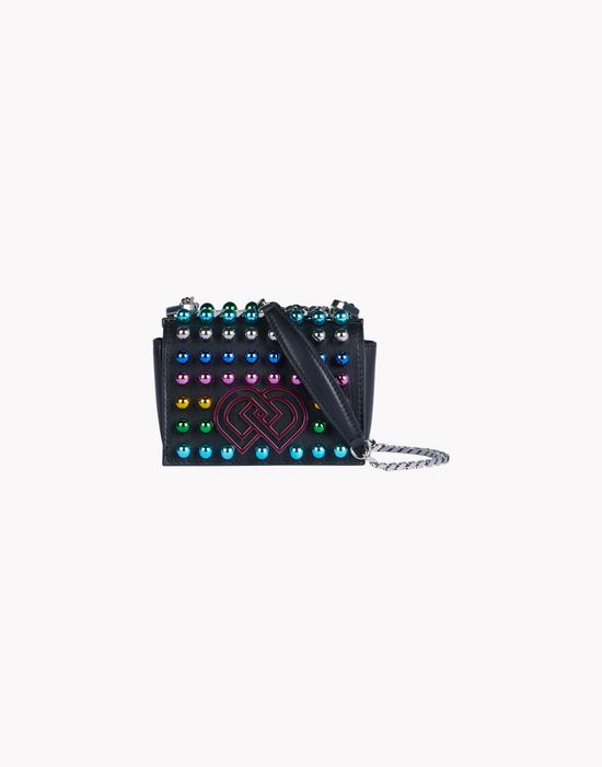 studded dd mini shoulder bag bags Woman Dsquared2