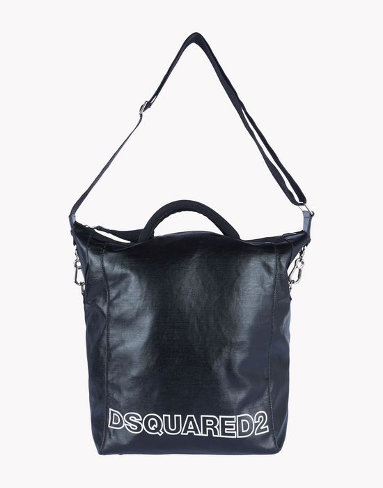 leather tote handbags Man Dsquared2