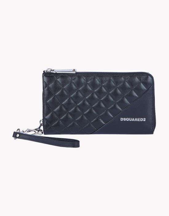 icon zip leather large wallet other accessories Woman Dsquared2