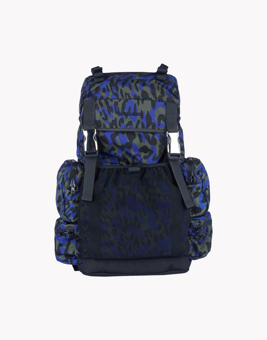 camouflage akira backpack handbags Man Dsquared2