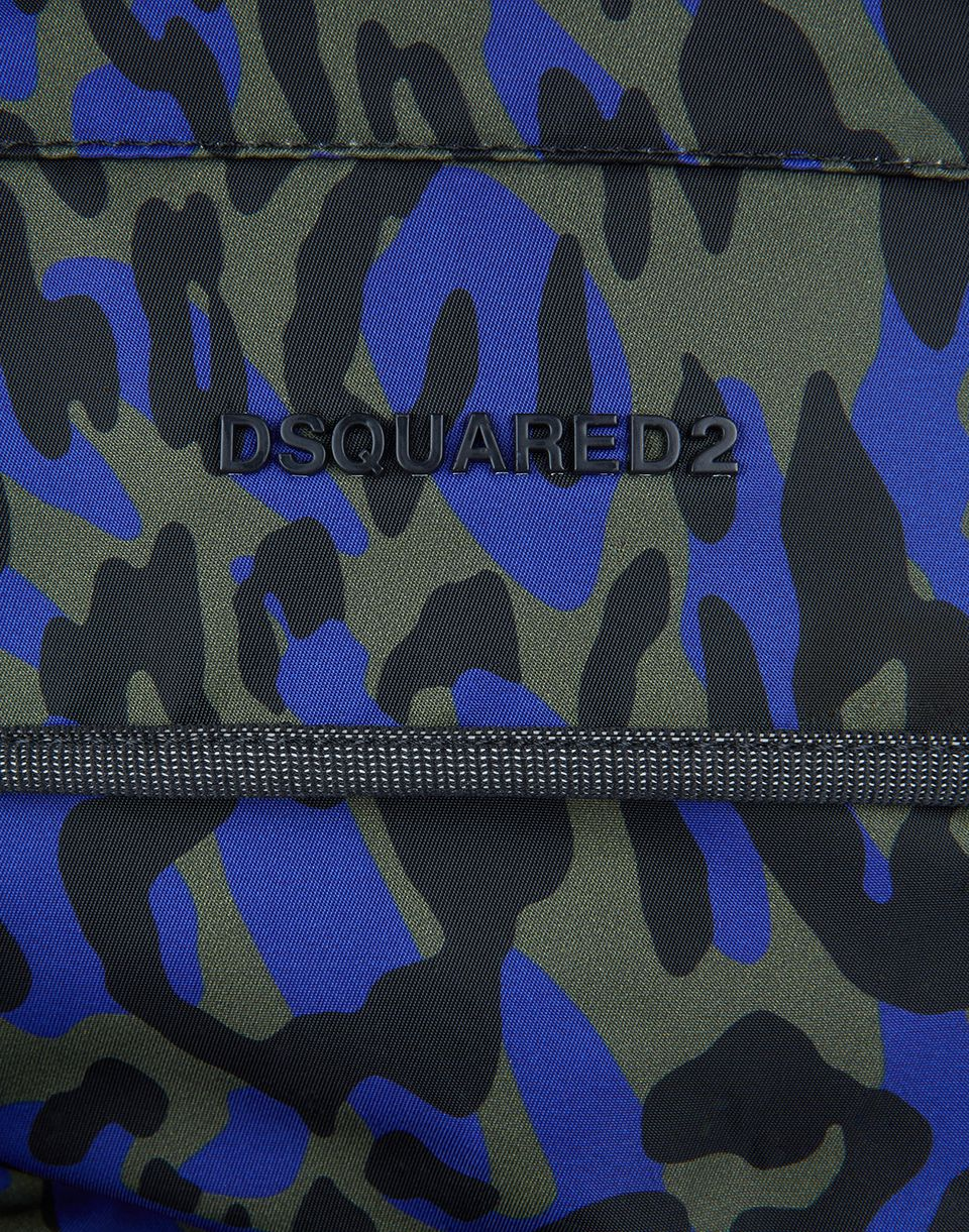 camouflage akira backpack bags Man Dsquared2