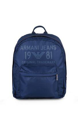Armani Backpacks Men glossy twill tote bag