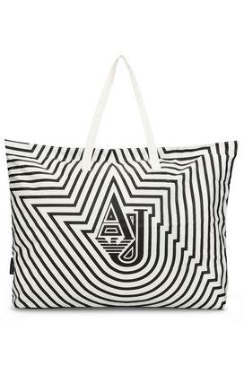 Armani Shopper Donna borsa shopper in nylon stampato