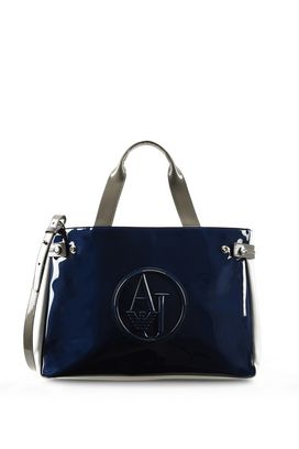 Armani Shopper Donna borsa shopper con logo e tracolla