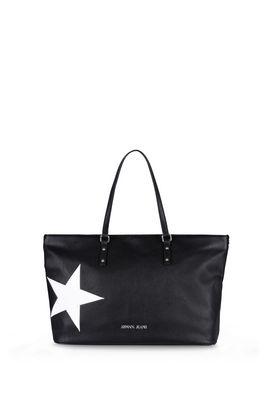 Armani Shopper Donna borsa shopper in similpelle con stella