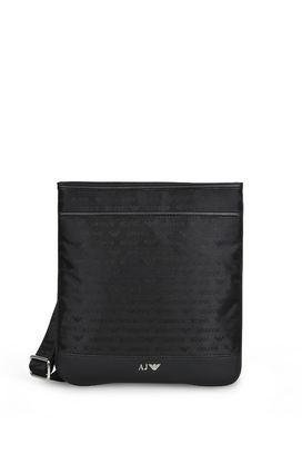 Armani Messenger bags Men technical fabric shoulder bag