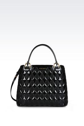 Armani Borse a mano Donna shopping bag in vernice