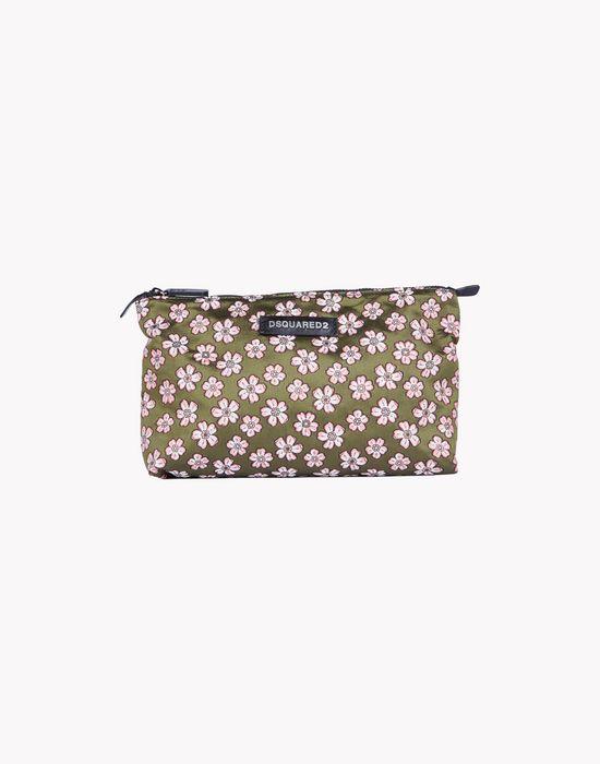floral toiletry bag handbags Man Dsquared2