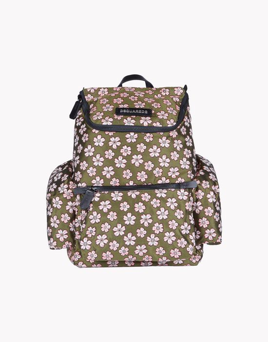 floral jacquard hiro backpack handbags Man Dsquared2