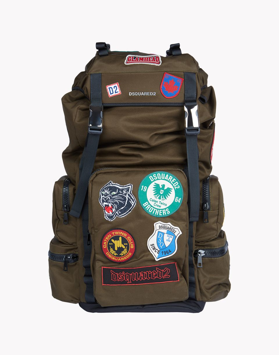 Dsquared2 Military Patch Akira Backpack, Backpacks Men - Dsquared2 ...